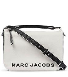 Sac à bandoulière The Colorblock Softbox en cuir - The Marc Jacobs - Modalova