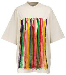 X Missoni – T-shirt à franges en coton - Palm Angels - Modalova