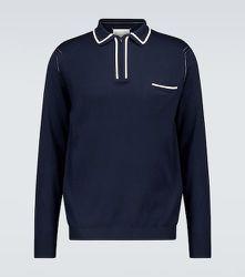 Polo à manches longues en coton - Maison Margiela - Modalova