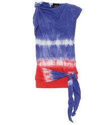 Paula's Ibiza – Top tie & dye en coton et soie - LOEWE - Modalova