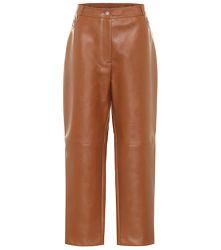 Pantalon ample à taille haute - STELLA McCARTNEY - Modalova