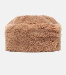 Toque Colby en laine de chameau et soie - Max Mara - Modalova