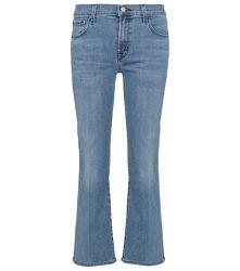 Jean raccourci Selena à taille mi-haute - J Brand - Modalova