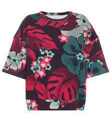 T-shirt en coton à fleurs - Dries Van Noten - Modalova