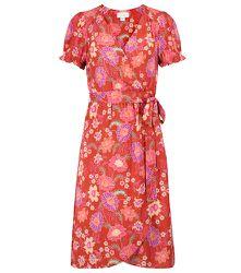 Robe portefeuille Meadow à fleurs - Velvet - Modalova