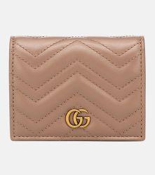 Portefeuille GG Marmont en cuir - Gucci - Modalova