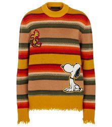 Pull The Peanuts Gauchos en laine - ALANUI - Modalova