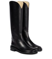 Bottes d'équitation en cuir - Proenza Schouler - Modalova