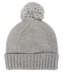 Bonnet à ponpon à laine mélangée - Il Gufo - Modalova