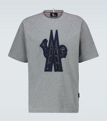 T-shirt en coton à logo Maglia - Moncler Grenoble - Modalova