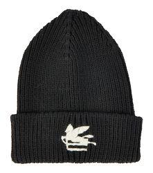 Bonnet en laine à logo - ETRO - Modalova