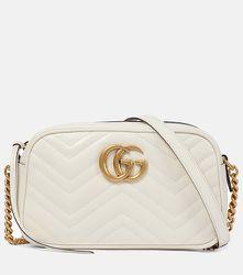 Sac GG Marmont Small en cuir - Gucci - Modalova