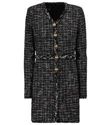 Mini-robe à boutons en tweed - GIAMBATTISTA VALLI - Modalova