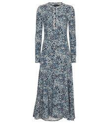 Robe midi en coton à fleurs - Polo Ralph Lauren - Modalova