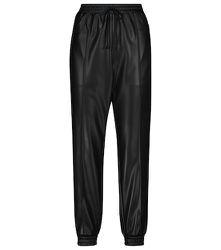 Pantalon à taille haute en faux cuir - Philosophy di Lorenzo Serafini - Modalova