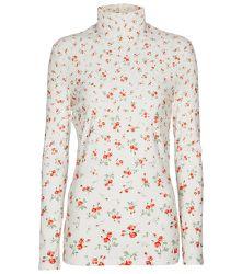 Top en jersey extensible à fleurs - Paco Rabanne - Modalova
