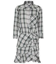 Mini-robe plaid Valle - Veronica Beard - Modalova