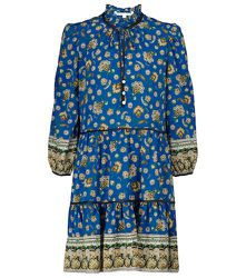 Mini-robe Hawken à fleurs en soie extensible - Veronica Beard - Modalova
