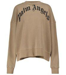 Sweat-shirt imprimé en coton - Palm Angels - Modalova