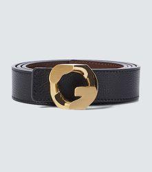 Ceinture réversible GChain en cuir - Givenchy - Modalova
