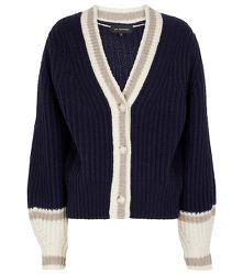 Cardigan en laine mélangée - Lee Mathews - Modalova