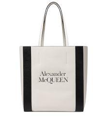 Cabas Signature Medium en cuir - Alexander McQueen - Modalova