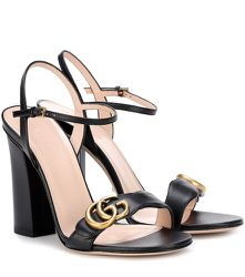 Sandales Marmont en cuir - Gucci - Modalova