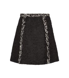 Mini-jupe en tweed - GIAMBATTISTA VALLI - Modalova