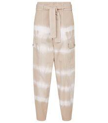 Pantalon en coton imprimé - STELLA McCARTNEY - Modalova