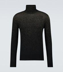 Pull à col roulé en laine mélangée - Alexander McQueen - Modalova