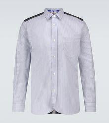 Chemise en coton à rayures et carreaux - Junya Watanabe - Modalova