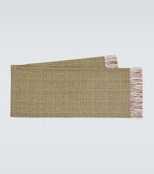 Écharpe en laine à carreaux - Junya Watanabe - Modalova