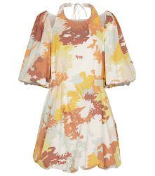 Mini-robe en coton mélangé imprimé - Jonathan Simkhai - Modalova