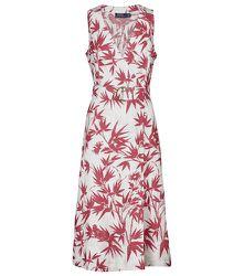 Robe longue à fleurs en lin - Polo Ralph Lauren - Modalova