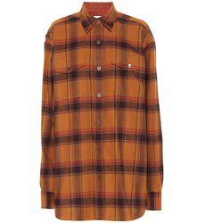 Chemise en coton à carreaux - Dries Van Noten - Modalova