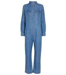 Combi-pantalon en jean Drift Away - 7 For All Mankind - Modalova
