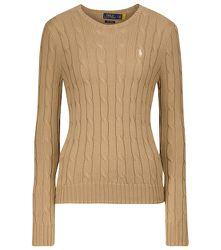 Pull en tricot de coton torsadé - Polo Ralph Lauren - Modalova