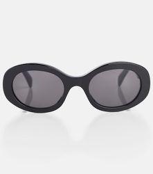 Lunettes de soleil ovales en acétate - CELINE Eyewear - Modalova