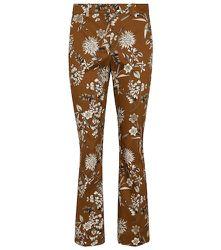 Pantalon Raccourci Scrivia en coton à fleurs - 'S Max Mara - Modalova
