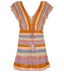 Mini-robe Melissa en crochet - ANNA KOSTUROVA - Modalova