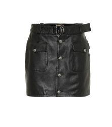 Exclusivité Mytheresa – Mini-jupe en cuir - Saint Laurent - Modalova