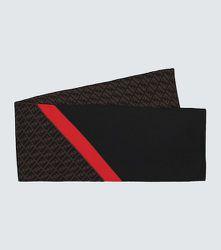 Écharpe Diagonal FF en laine - FENDI - Modalova