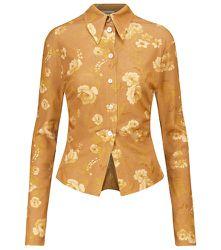 Chemise Felda à motif floral - Nanushka - Modalova