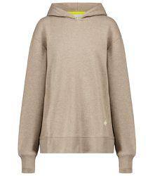 Sweat-shirt à capuche en coton - Tory Sport - Modalova