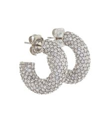 Boucles d'oreilles Cameron Mini à ornements - Amina Muaddi - Modalova