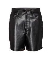 Short Leana à taille haute en cuir synthétique - Nanushka - Modalova