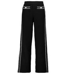 Pantalon à taille haute en coton - Salvatore Ferragamo - Modalova