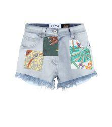 Paula's Ibiza – Short en jean à taille haute - LOEWE - Modalova