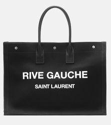 Cabas Rive Gauche imprimé - Saint Laurent - Modalova