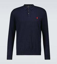 Polo à manches longues en coton - Polo Ralph Lauren - Modalova